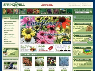 Spring hill coupon code
