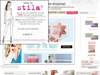 Stila Cosmetics coupons