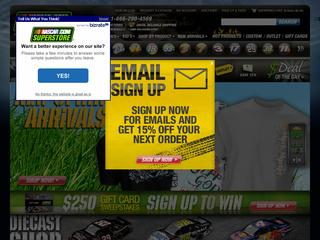 Nascar Store coupons