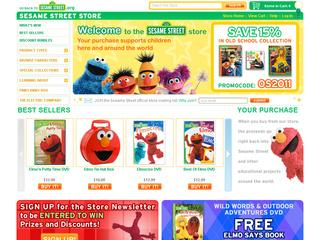 Sesame Street Store coupons