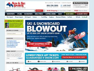 Sun And Ski Sports coupons