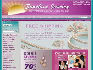 Sunshine Jewelry coupons