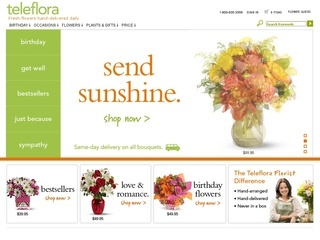 Teleflora coupons discounts