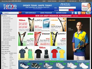 How to use a TennisExpress coupon If you scroll toward the middle of the homepage, you will find the current promotions at TennisExpress, along with the coupon codes needed to take advantage of them.