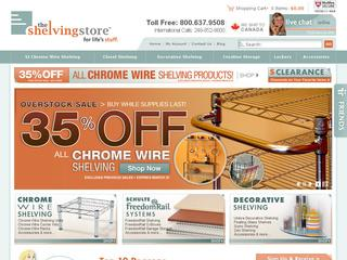 The Shelving Store coupons