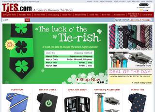 Ties.com coupons