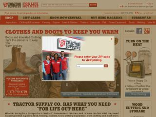 Tractor Supply Company coupons