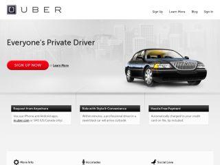 Uber.com coupons