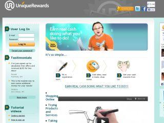 UniqueRewards.com coupons