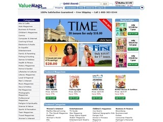 ValueMags coupons