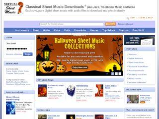Virtual Sheet Music, Inc. coupons