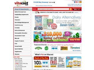 Vitacost promo code september 2017