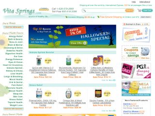 VitaSprings.com coupons