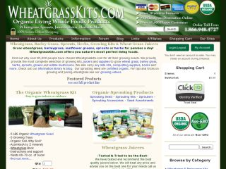 WheatGrassKits.com coupons