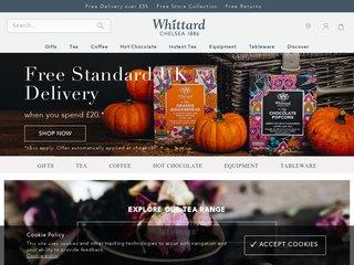 whittard coupon code