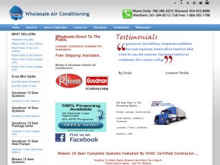 Wholesaleacunits.com coupons