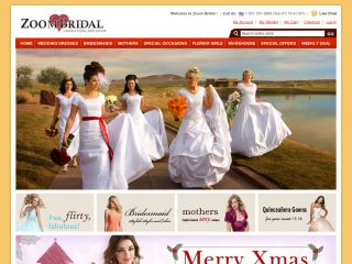Zoombridal.com coupons